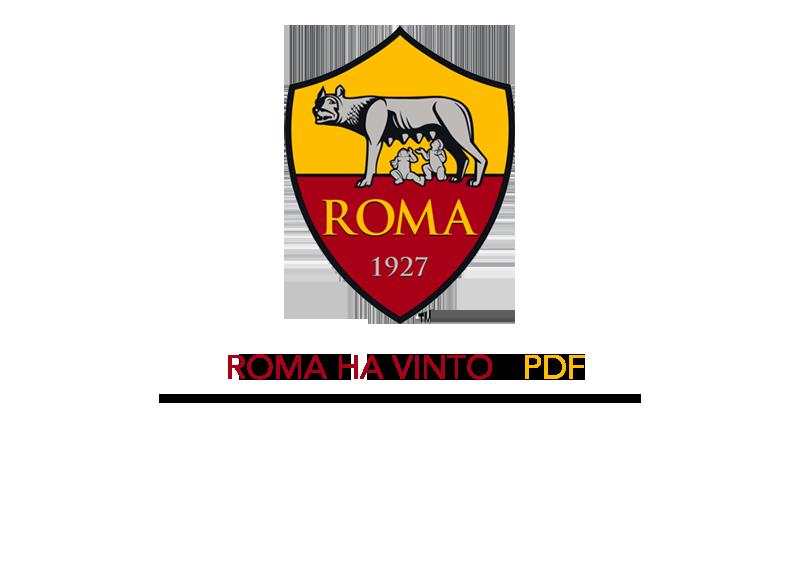 roma ha vinto - pdf di presentazione