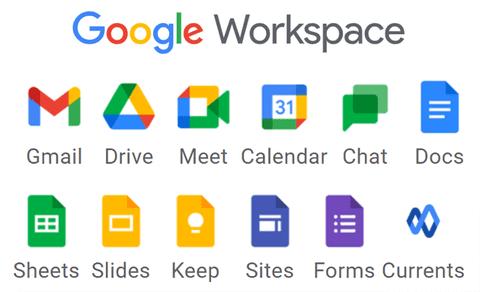 la nuova suite workspace di google