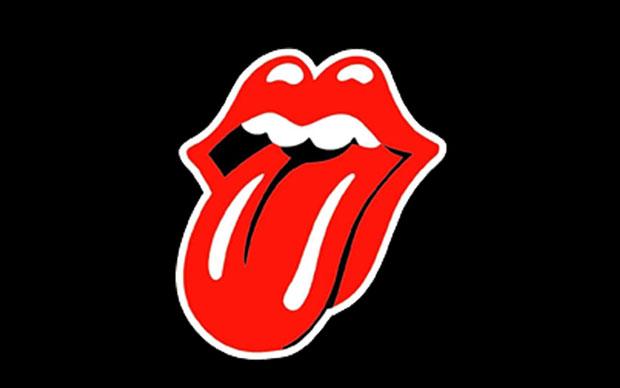logo semplice ed efficace rolling stones