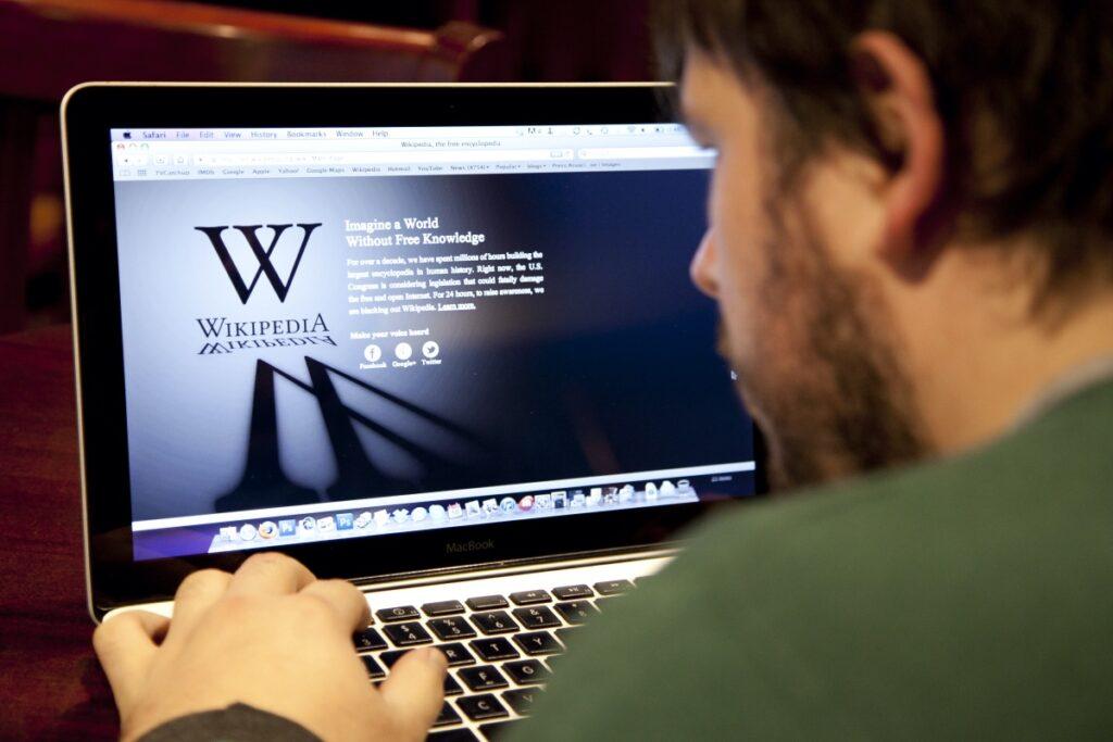 wikipedia nuova grafica