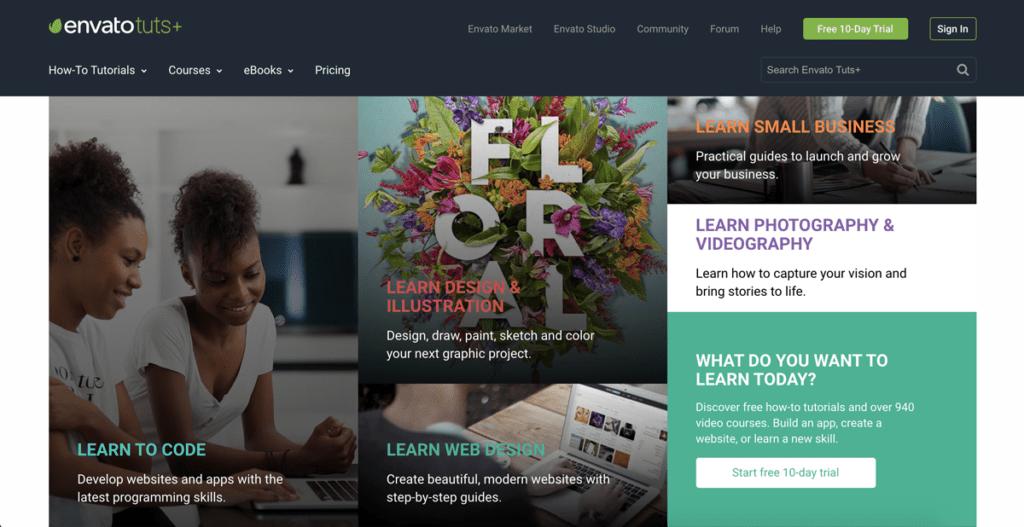 risorse gratuite per web designers - Envato tuts