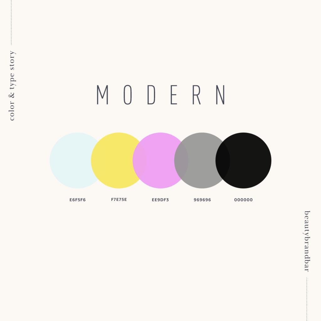 Brand identity - palette colori