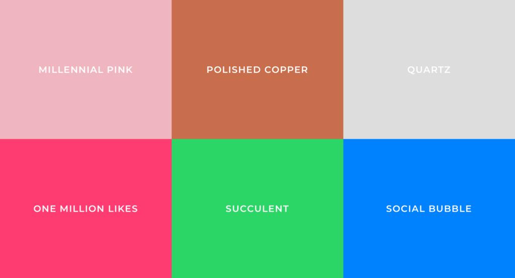 Sviluppare brand identity- palette colori