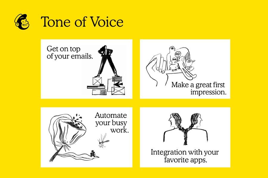tone of voice - voice identity
