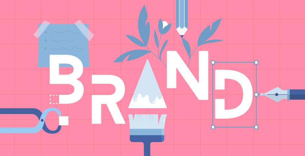 come creare un biglietto da visita - brand identity