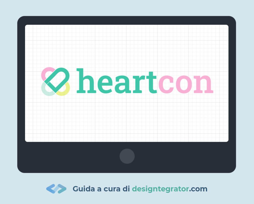 come creare un logo - testo
