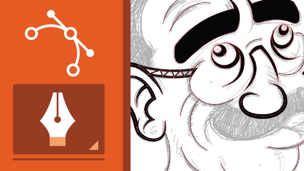 come creare un logo in illustrator - strumento penna