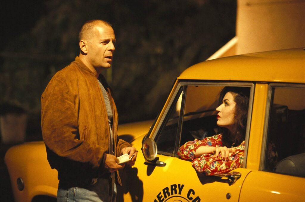 Pulp fiction - scena taxi