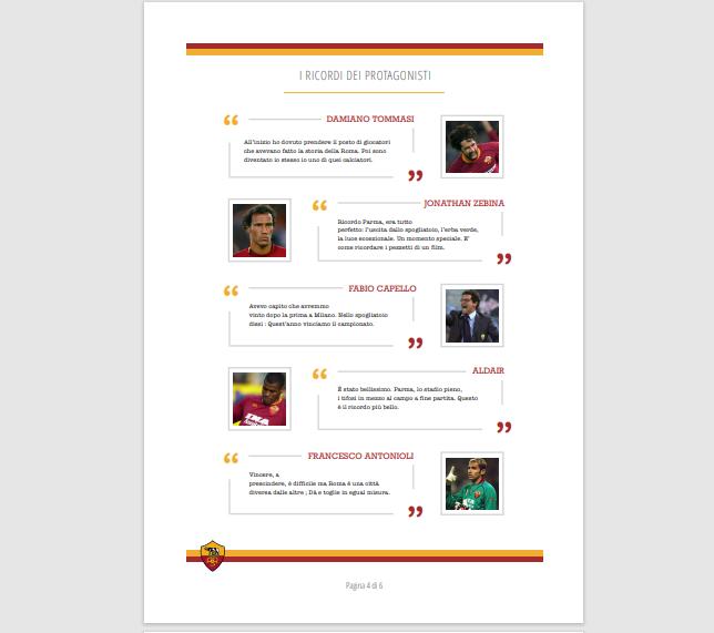 roma ha vinto pdf - citazioni