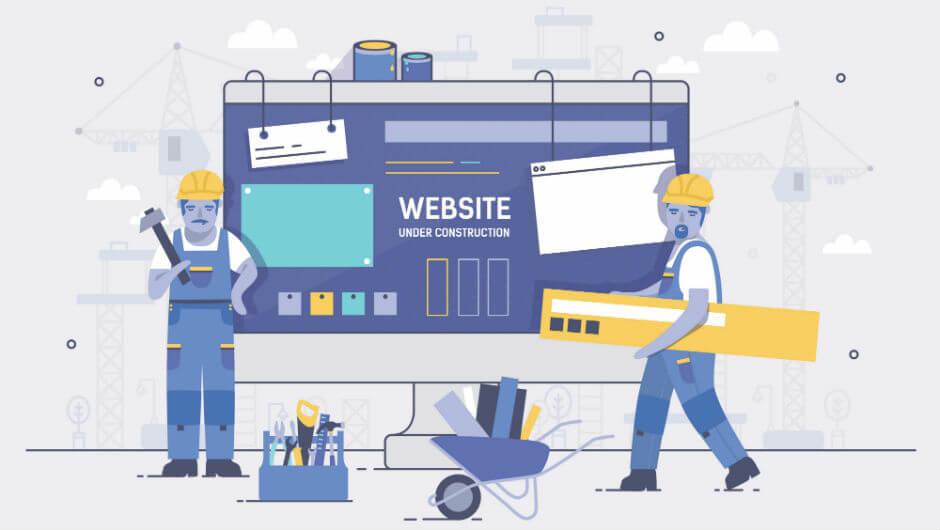 Web site builder vs web designer