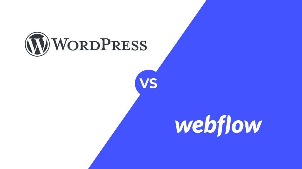 costo di un sito web - wordpress vs webflow