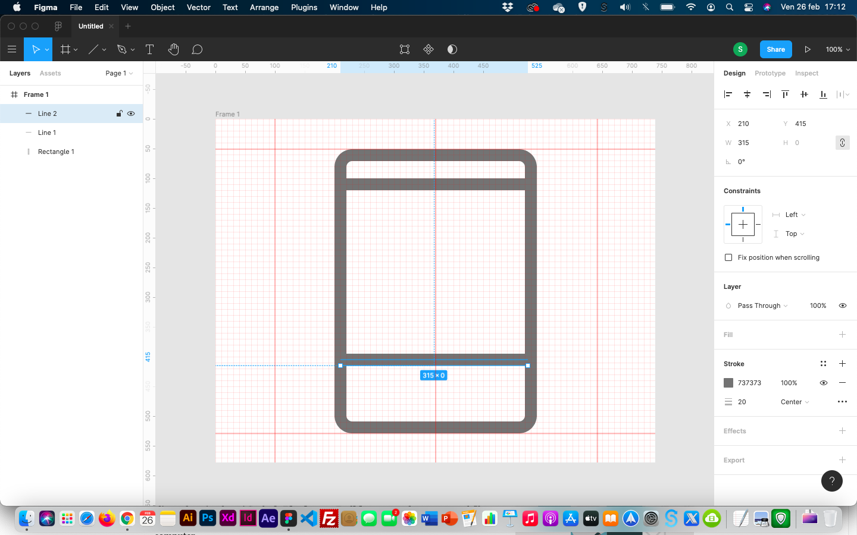Creare icone - definire i dettagli