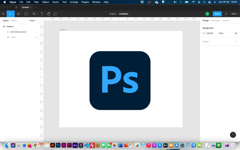 creare icone photoshop stile