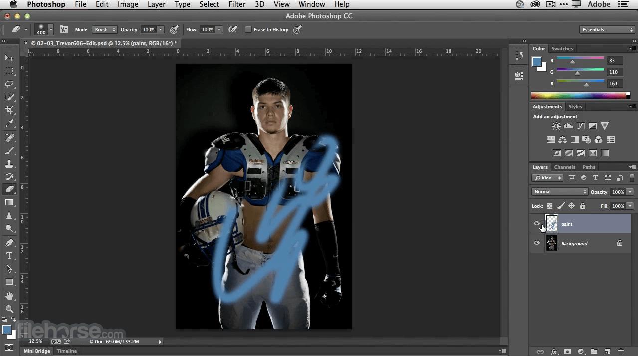 editor foto - photoshop