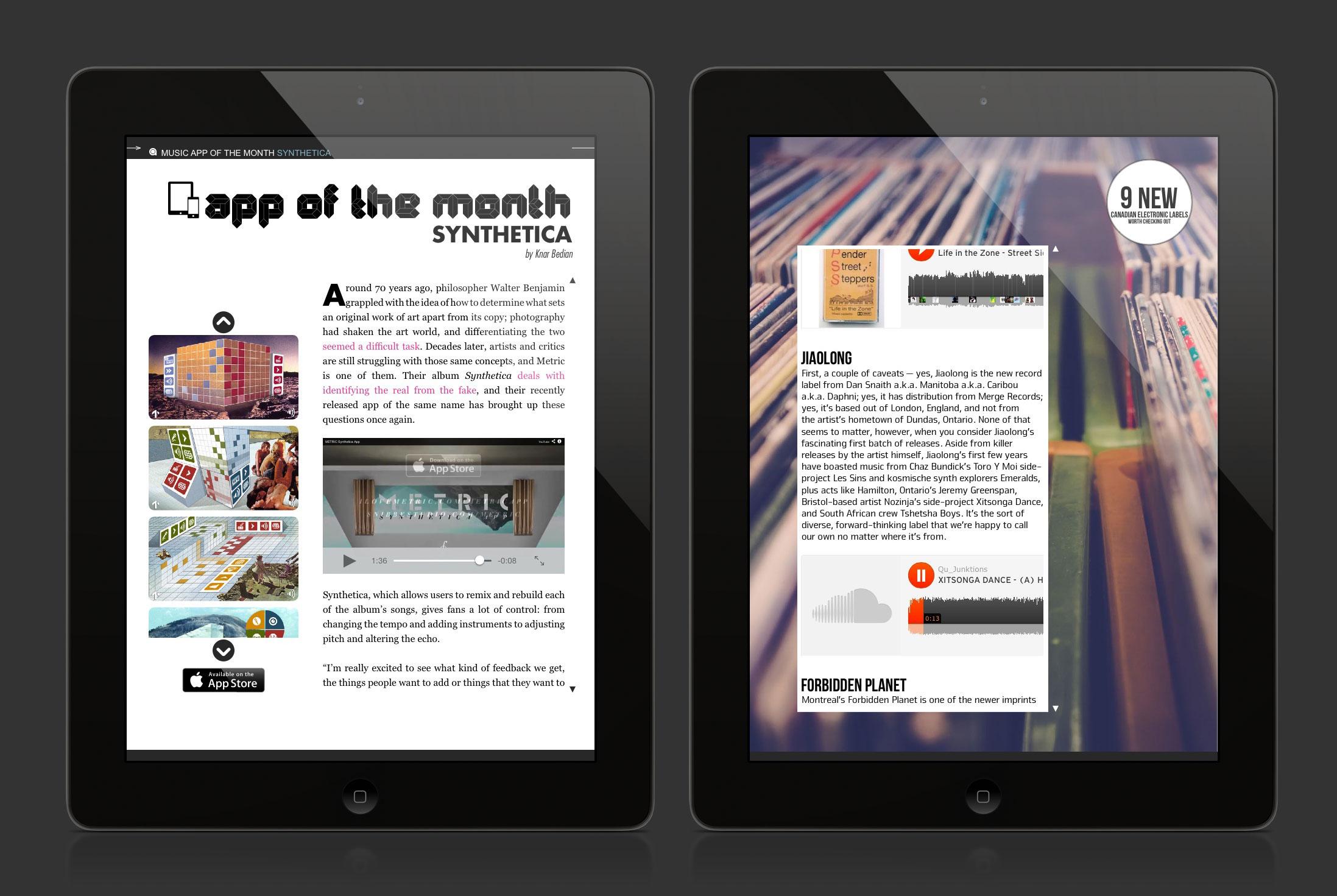 digital magazines app ipad