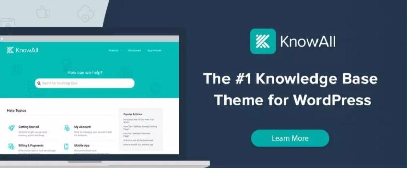 migliori temi wordpress - knowall