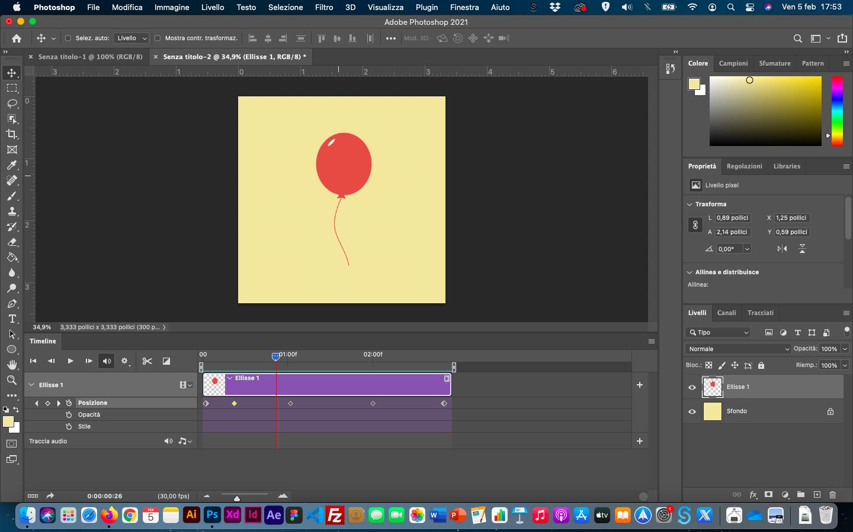 tutorial photoshop creare una gif animata con