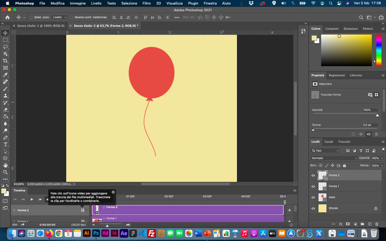tutorial photoshop gif animata