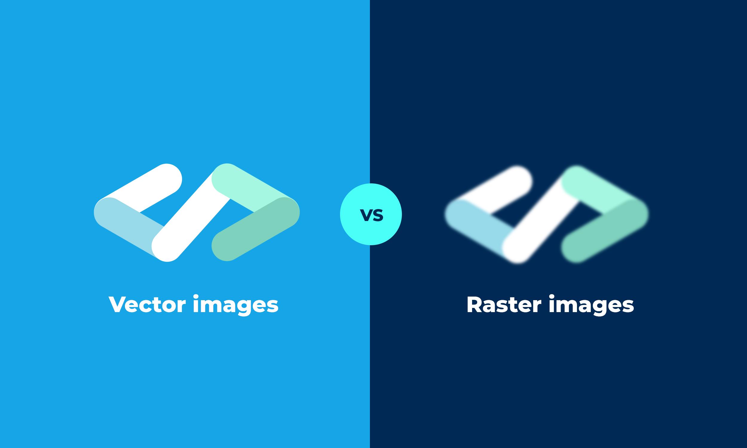 immagini vettoriali vs immagini raster