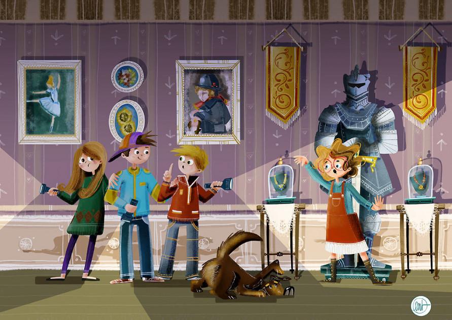 illustratore per bambini - Valentina Bandera
