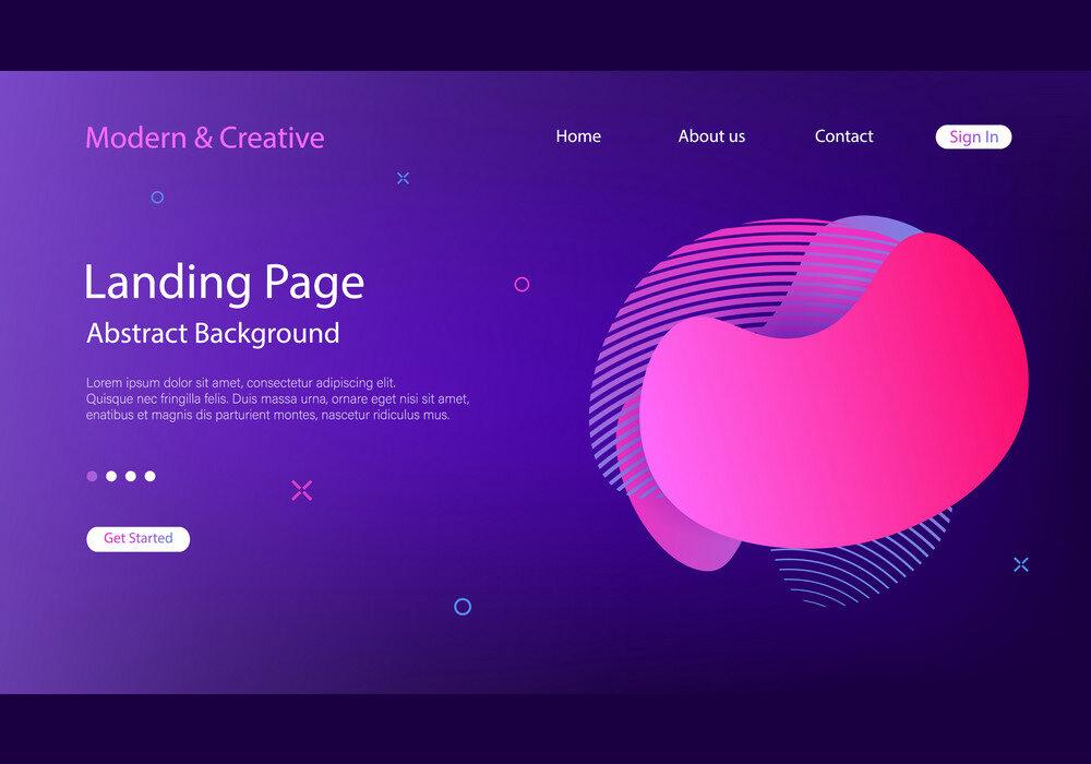 web design astratto