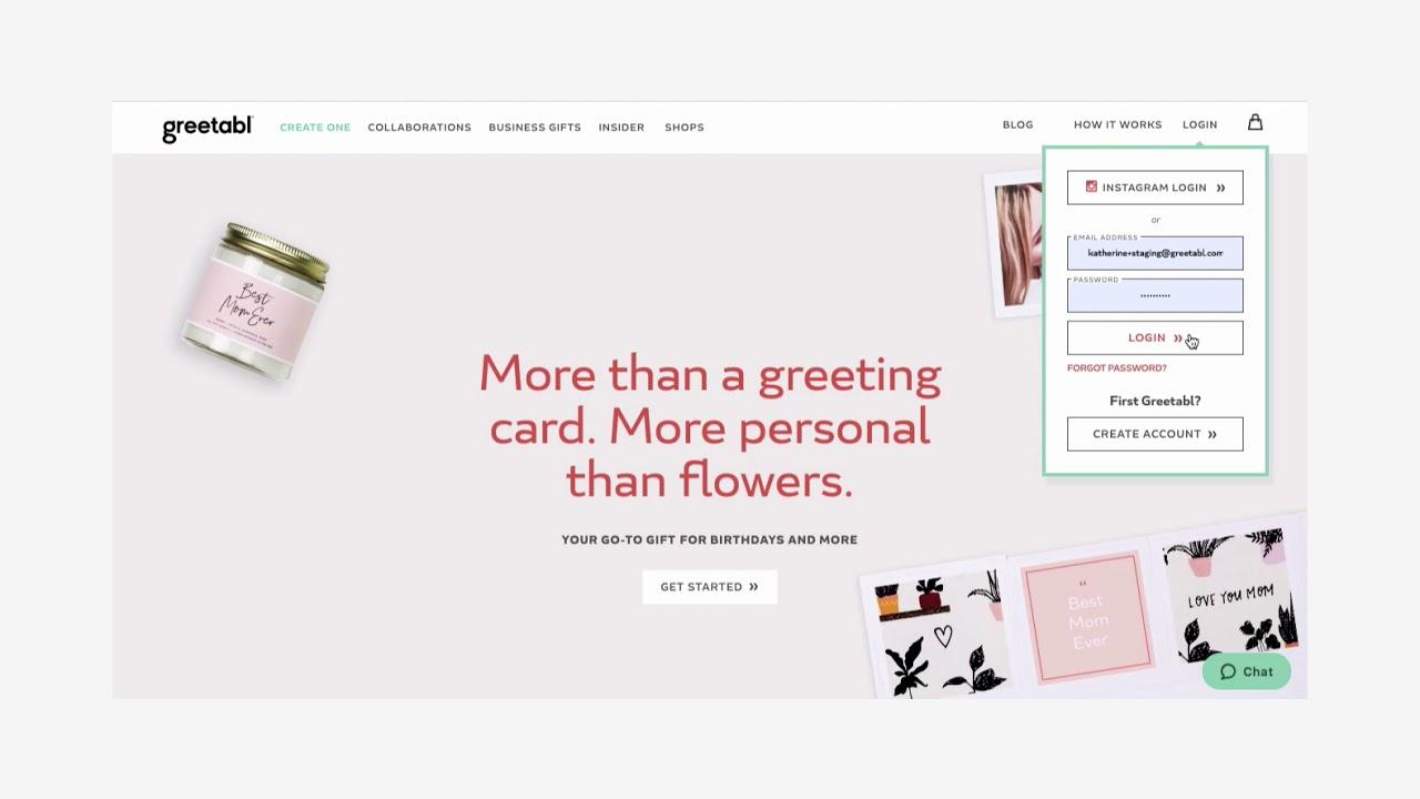 web design - greetabl