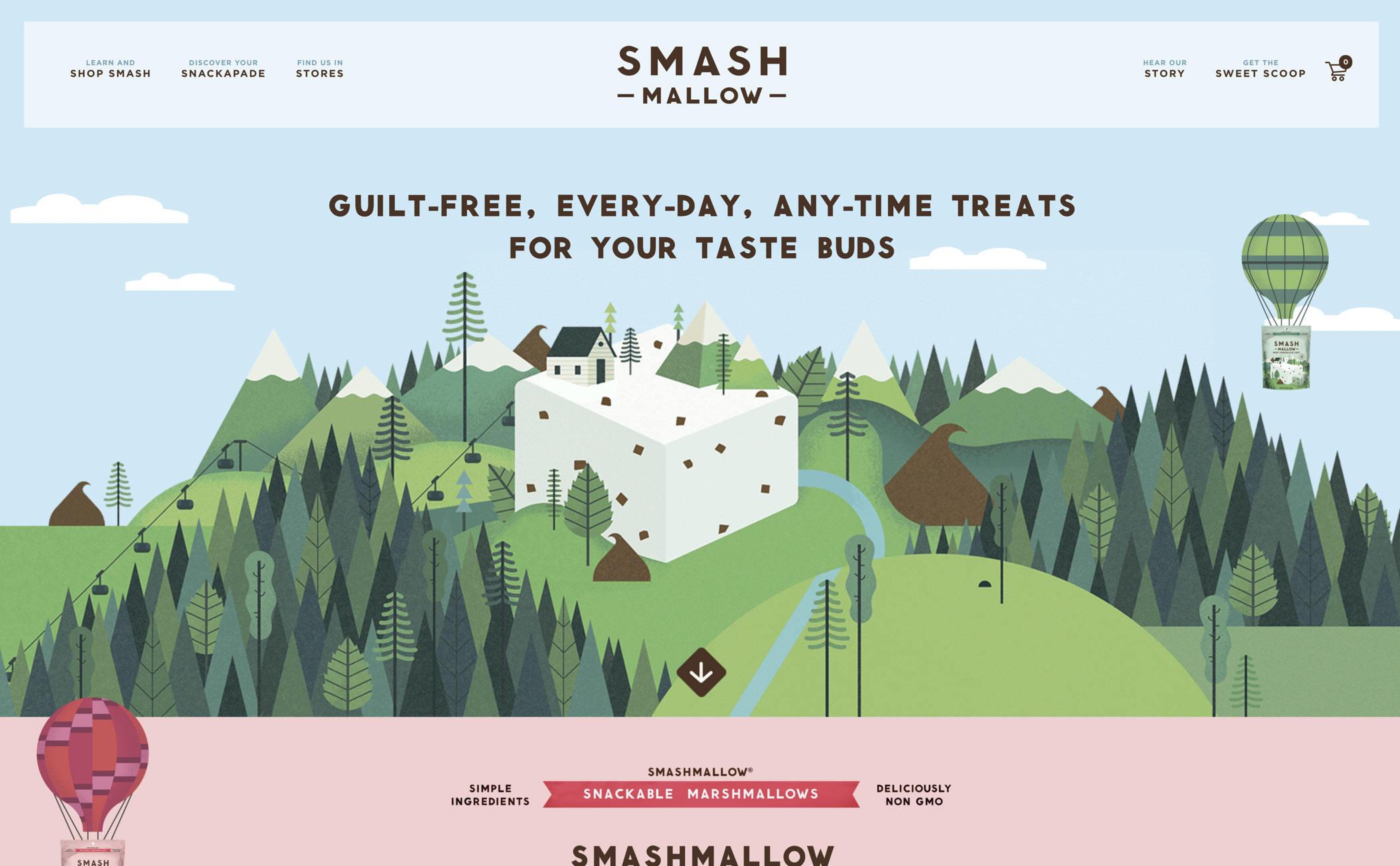 web design - smash mallow