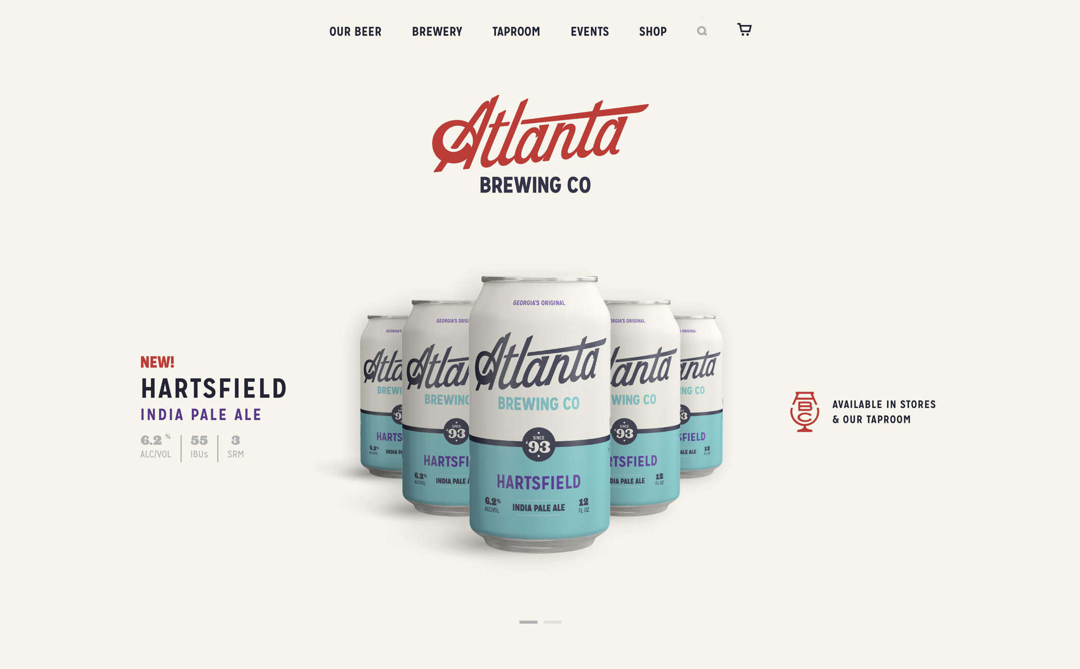 web design vintage