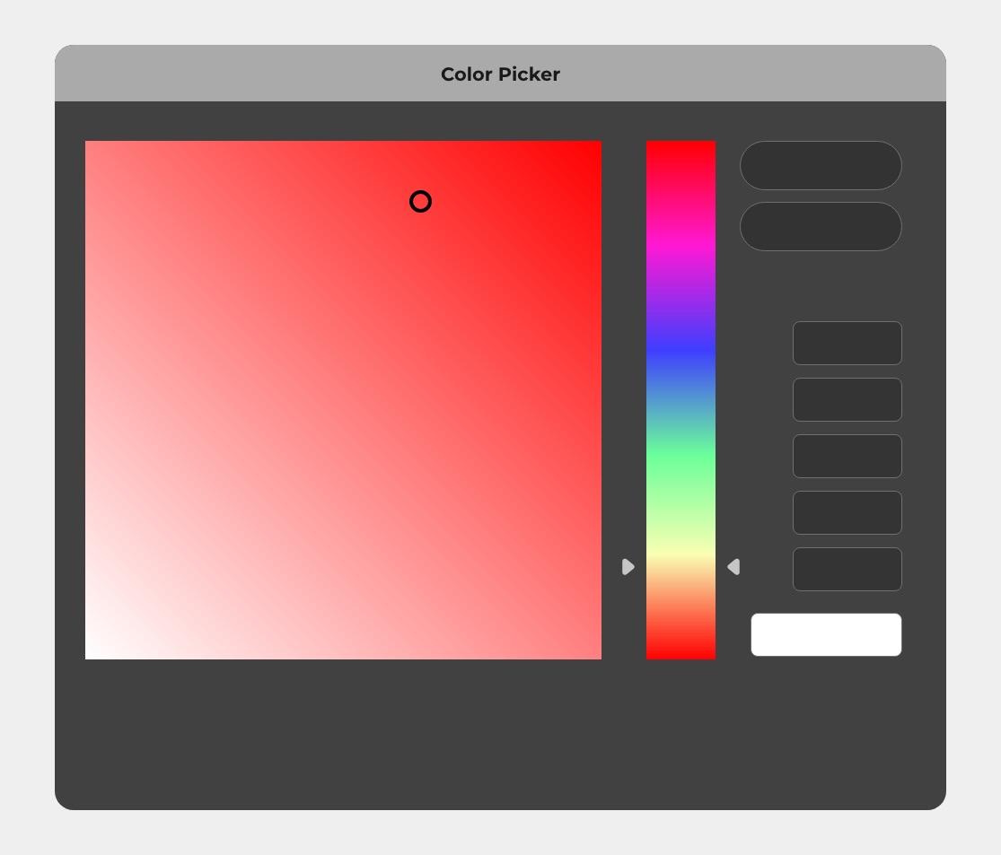 modificare logo - color picker
