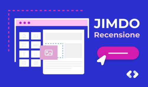 Recensione Jimdo – Uno dei più affidabili builder di siti web?