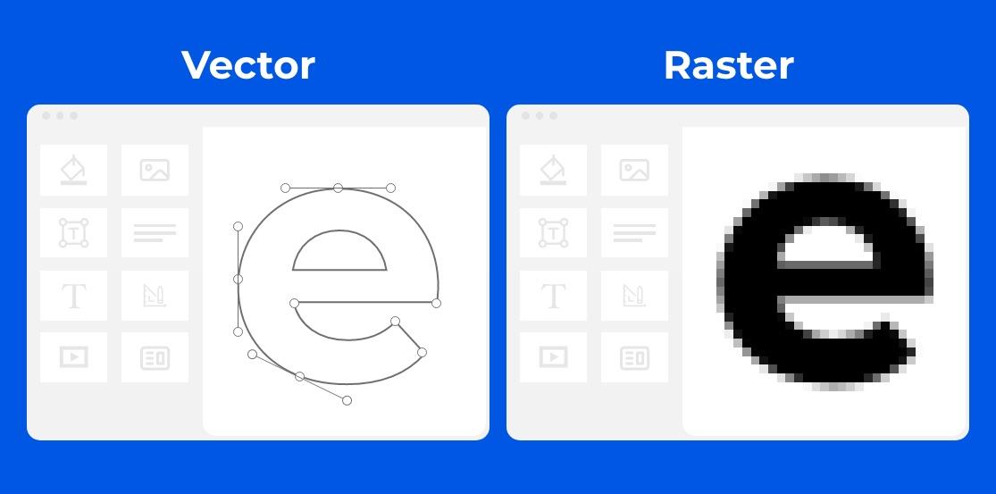 modificare logo - vettoriale vs raster
