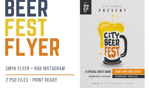 Beer Flyer Fest – Il nuovo volantino a tema Birra / Oktoberfest