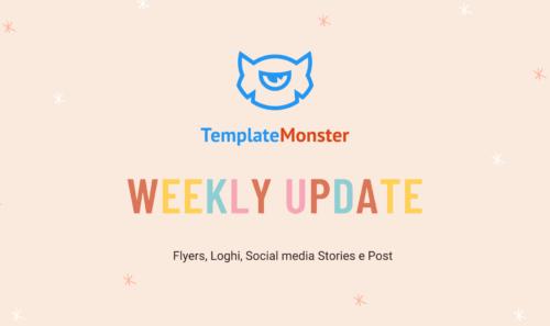 TemplateMonster Weekly Update – Tante belle novità grafiiche